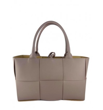 Woven shopping leather bag - BPL3610