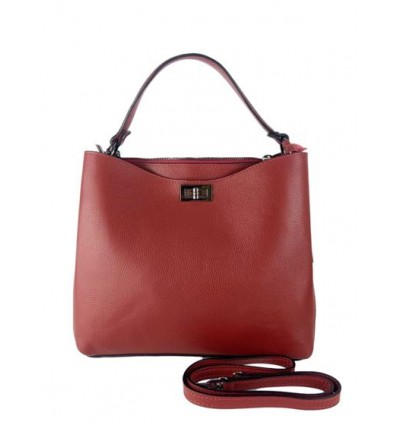Leather handbag BPL9940