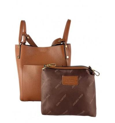 Leather bucket bag RS-BP9953
