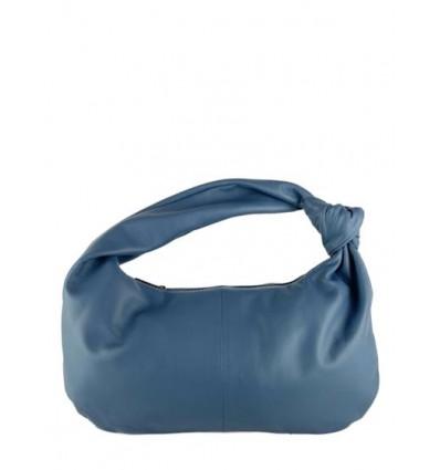 Smooth leather handbag with knot BPL9914