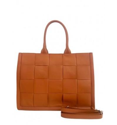 Maxi wave leather handbag BPL9500