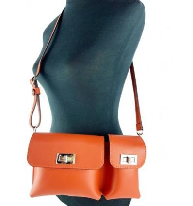 Leather shoulder bag BPL80123