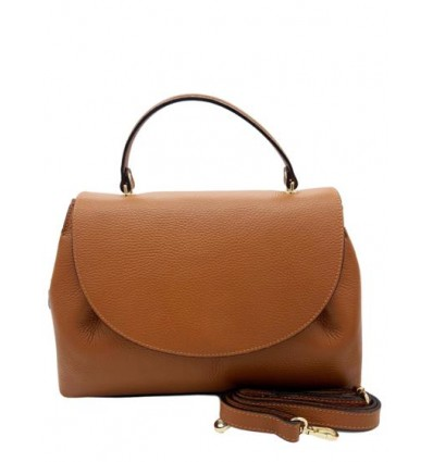 Soft leather shoulder bag BPL3377