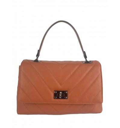 Handbag with Shoulder Strap and Stitching BPL3606