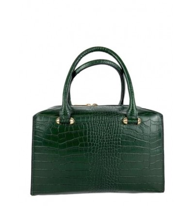 Croc embossed leather handbag BPL9988