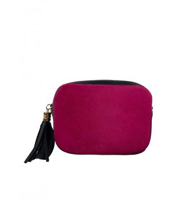 Pony hair shoulder bag BPL3622